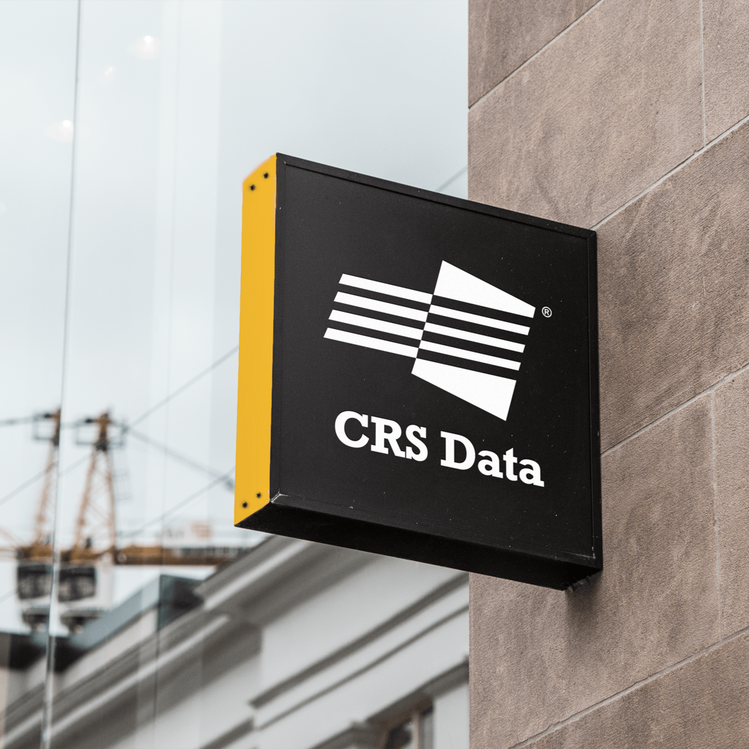 image of CRS logo on the side of a building